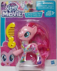My Little Pony The Movie Scene Collection Pinkie Pie figure Wave 1