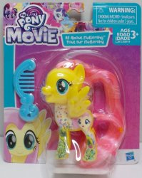 My Little Pony The Movie Scene Collection Fluttershy figure Wave 1