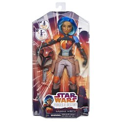 Star Wars Forces of Destiny Sabine Wren Adventure 11 inch Doll figure