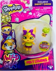 Shopkins Wild Style Foxy Lemons Shoppet and Leona Lemon Tree