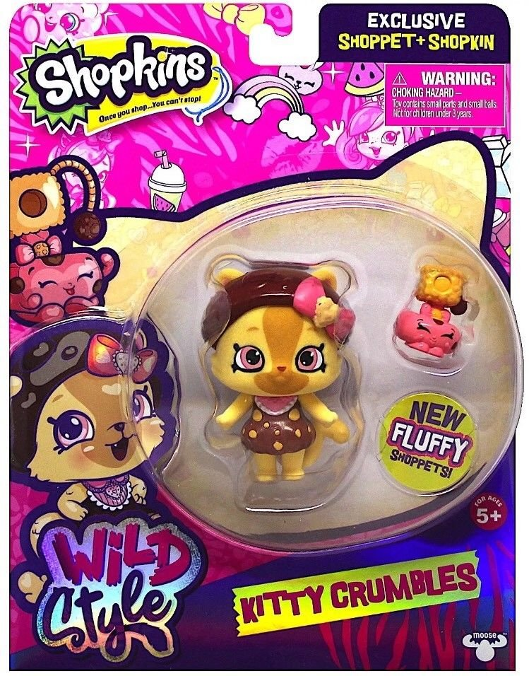 Shopkins Wild Style with Camilla Cat Stand