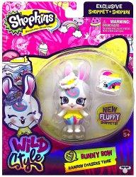 Shopkins Wild Style Bunny Bow Shoppet and Carotta Cake