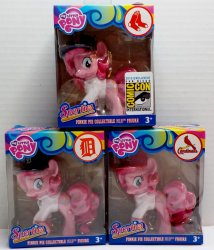 My Little Pony MLB Pinkie Pie Sporties Set of 3 SDCC exclusives