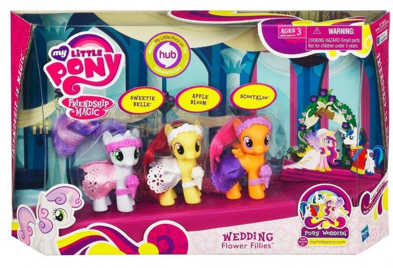 My Little Pony Sweetie Belle, Apple Bloom, Scootaloo