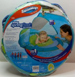 '.SwimWays Baby Spring float.'