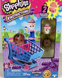 Shopkins Kinstructions Shopping Cart Patty Cake and Candy Cookie