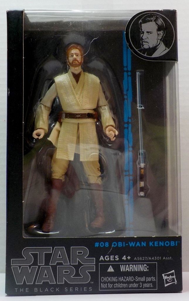 Image 0 of Star Wars Black Series Obi-Wan Kenobi #08 blue line ROTS