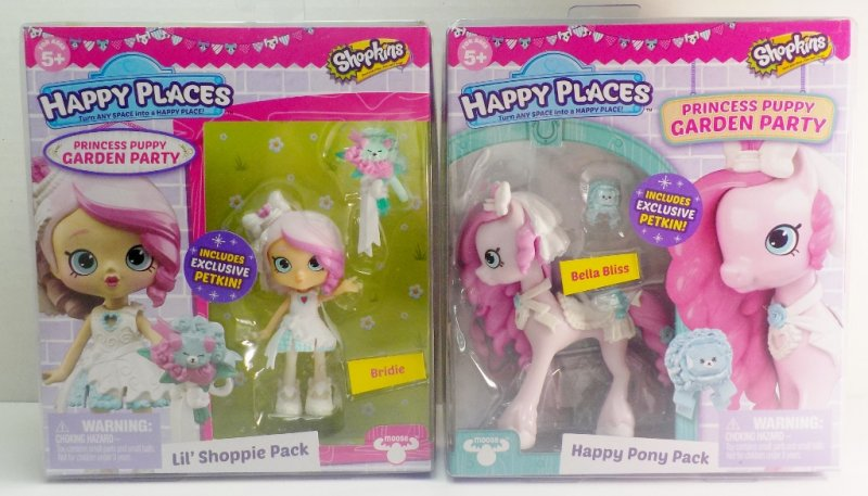 Shopkins Happy Places S4 Lil' Shoppie Pack