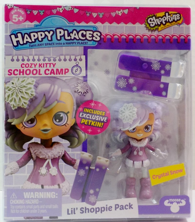 Shopkins Happy Places Cozy Kitty School Camp S4