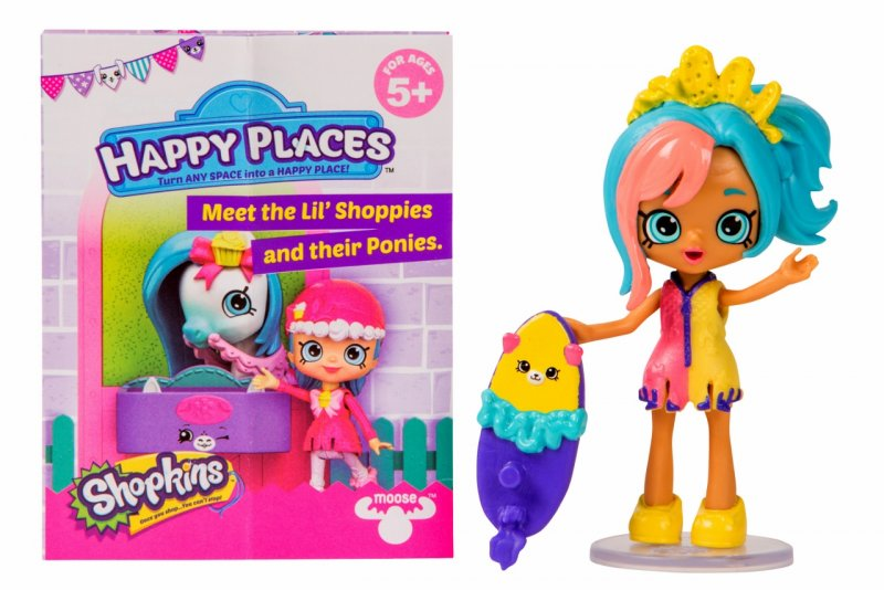 Shopkins Happy Places Puppy Patio Pool Party S4 and exclusive petkin