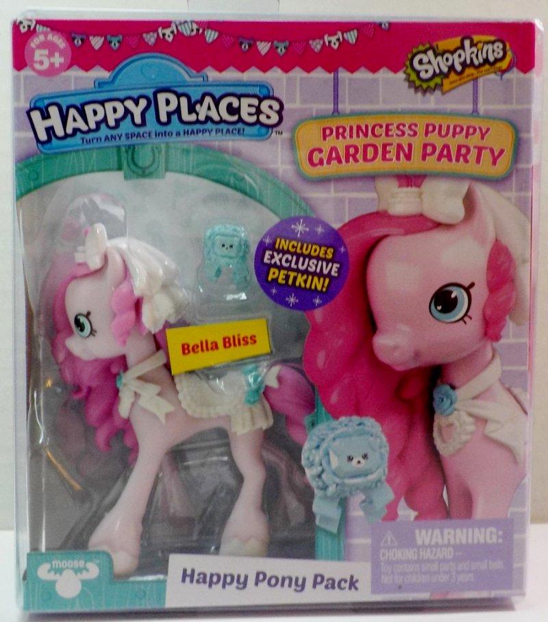 Shopkins Happy Places Princess Puppy Garden Party Pony Season 4