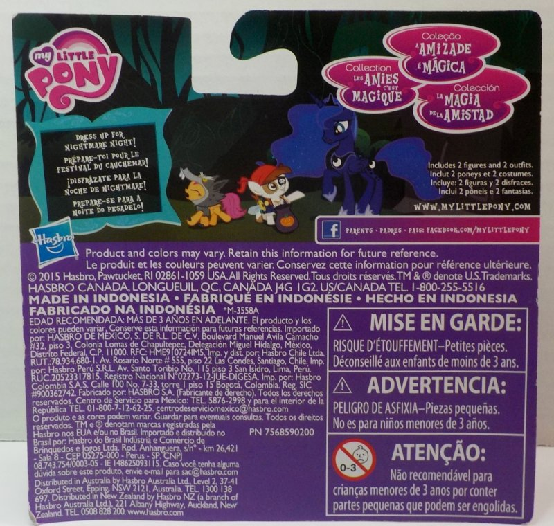 My Little Pony Friendship is Magic Collection Nightmare Night