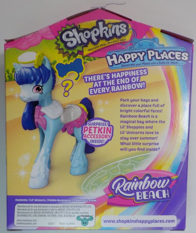 Shopkins Happy Places Rainbow Beach Shoppies