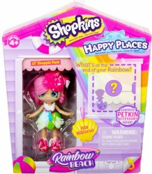 Shopkins Happy Places Rainbow Beach Tropicorn Unicorn Lil' Pony figure