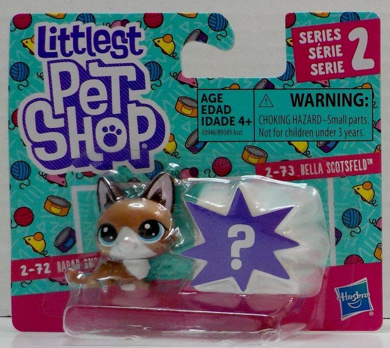Littlest Pet Shop Radar Snowcat 2-72 and Bella Scotsfeld 2-73