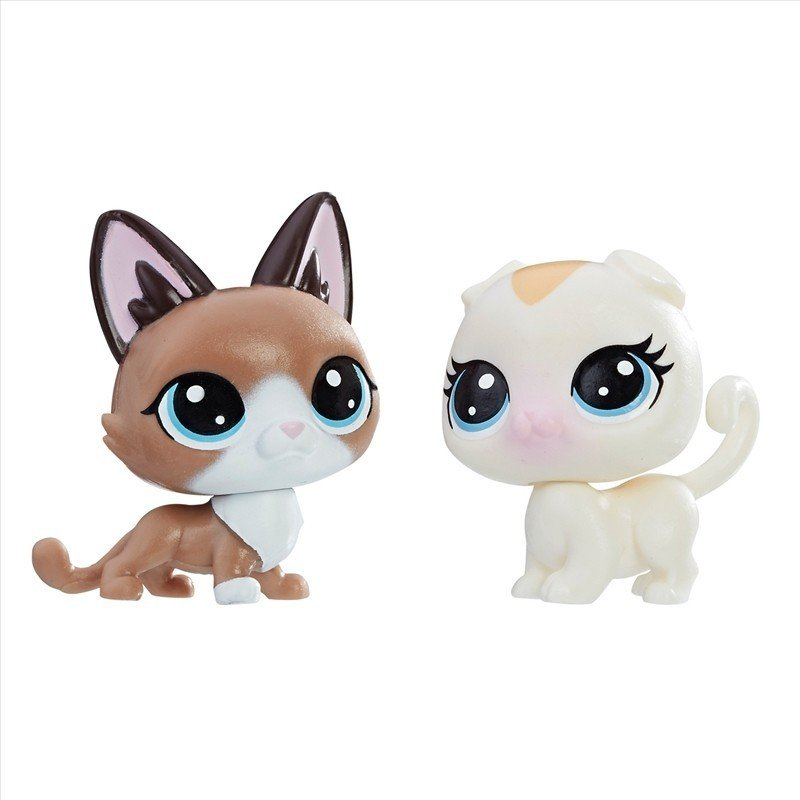 Littlest Pet Shop Radar Snowcat 2-72 and Bella Scotsfeld 2-73