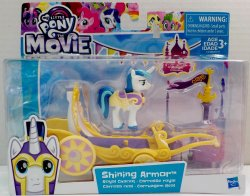 My Little Pony the Movie Shining Armor Royal Chariot playset