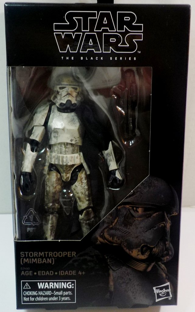 Star Wars The Black Series 6 inch action figure Walmart Exclusive