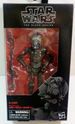 Star Wars Black Series 4-Lom #67 Bounty Hunter 6 inch action figure