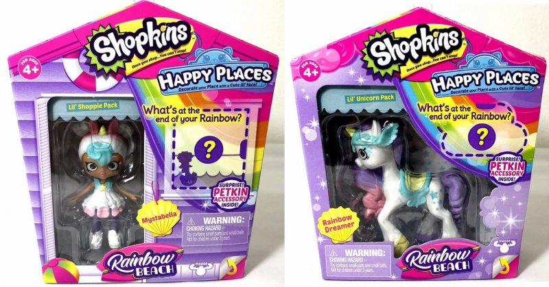 Shopkins Happy Places Rainbow Beach Rainbow