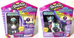 Shopkins Happy Places Rainbow Beach Mystabella & Rainbow Dreamer