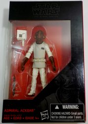 '.Admiral Ackbar 3.75 in figure.'