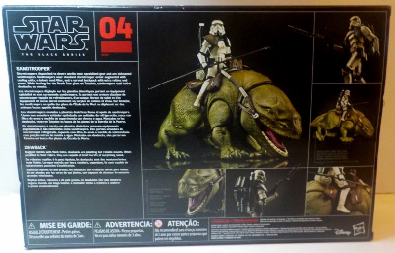 Star Wars Black Series 6 inch vehicle and action figure