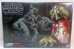 Star Wars Black Series Dewback and Sandtrooper 6 inch vehicle w/ figure