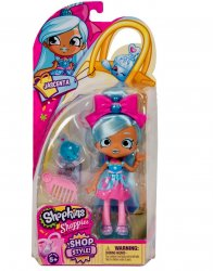 Shopkins Shoppies Doll Jascenta w/ Peyton Perfume Shop Style S10