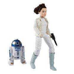 '.Princess Leia Organa & R2-D2.'