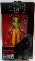 Star Wars Black Series Hera Syndulla 6 in action figure Rebels
