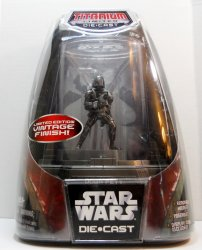 Star Wars Boba Fett Titanium Die Cast Ltd Ed figure 2005