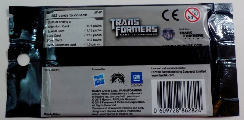 Transformers: Dark of the Moon 8 individual packs