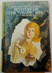 Nancy Drew #23 Mystery of the Tolling Bell 3rd PC oval EP