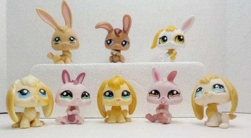 Rabbits 95, 531, 610, 864, 1417, 1366, 1466, 1766 lot