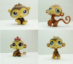 '.LPS Chimp and Monkey Lot.'