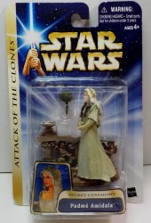 Star Wars Saga Padme Amidala Secret Ceremony #22 action figure 2003