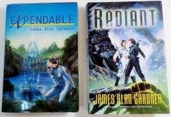 Expendable and Radiant by James Alan Gardner League of Peoples series