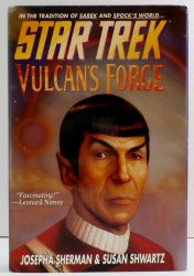 Star Trek TOS Vulcan's Forge by Josepha Sherman and Susan Shwartz 1997