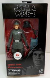 Star Wars ESB The Black Series General Veers 6 in action figure exclusive