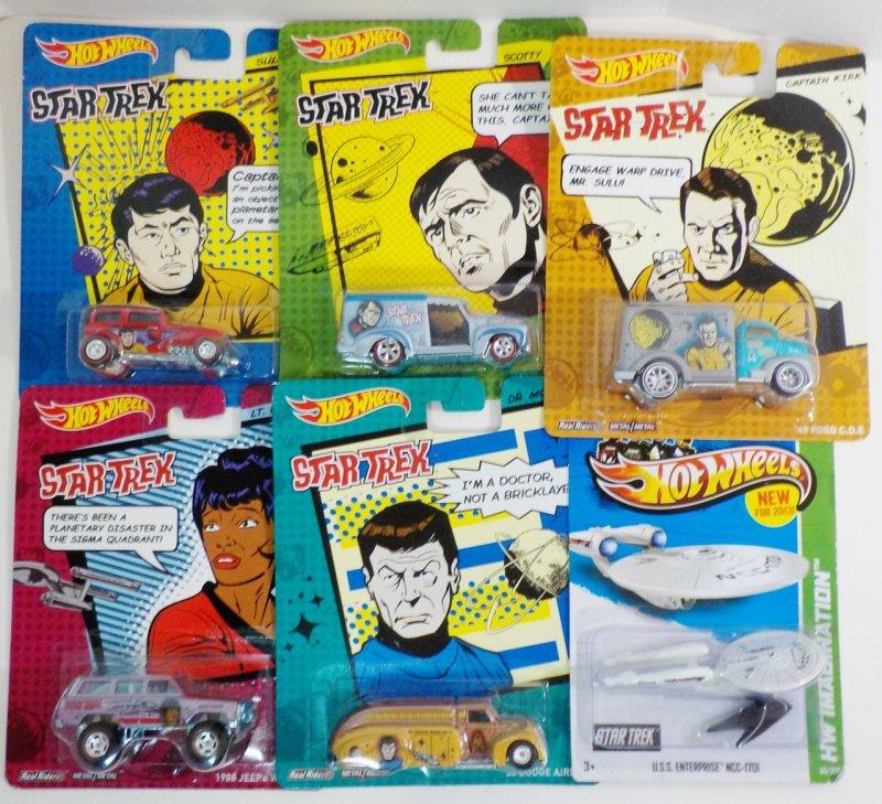 Pop Culture 5 character vehicles