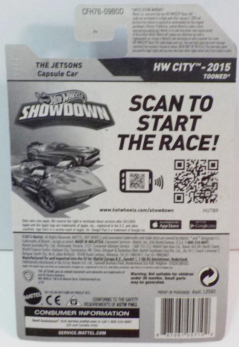 Hot Wheels HW City 2015 Tooned 2015