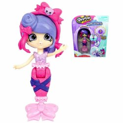 Shopkins Happy Places Ria Ribbons Mermaid Color Changing Tail S6