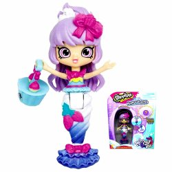 Shopkins Happy Places Berri Cakes Mermaid Color Changing Tail S6