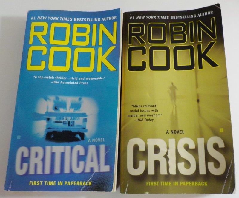 Medical Thriller Mystery books lot of 8 Paperbacks