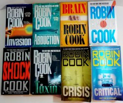 '.Books by Robin Cook.'
