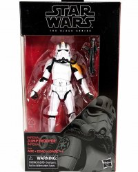 Star Wars Imperial Jumptrooper The Black Series exclusive figure