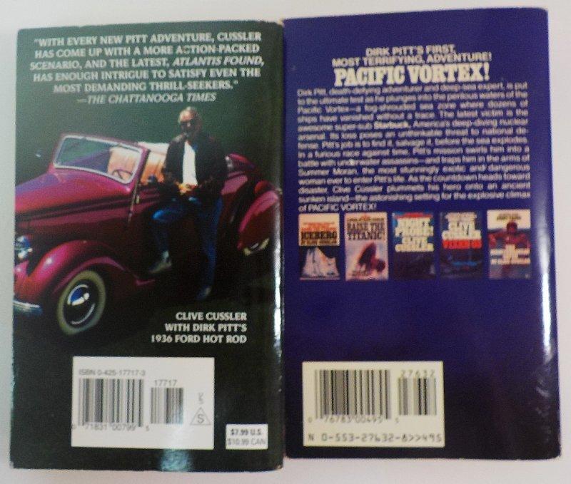 Dirk Pitt, Sam & Remi Fargo, Kurt Austin adventures
