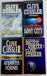 Flood Tide by Clive Cussler A Dirk Pitt Novel First ed HC DJ 1997