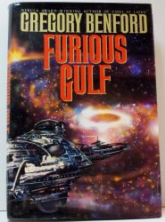 Furious Gulf by Gregory Benford Galactic Center 1st Ed HC DJ 1994